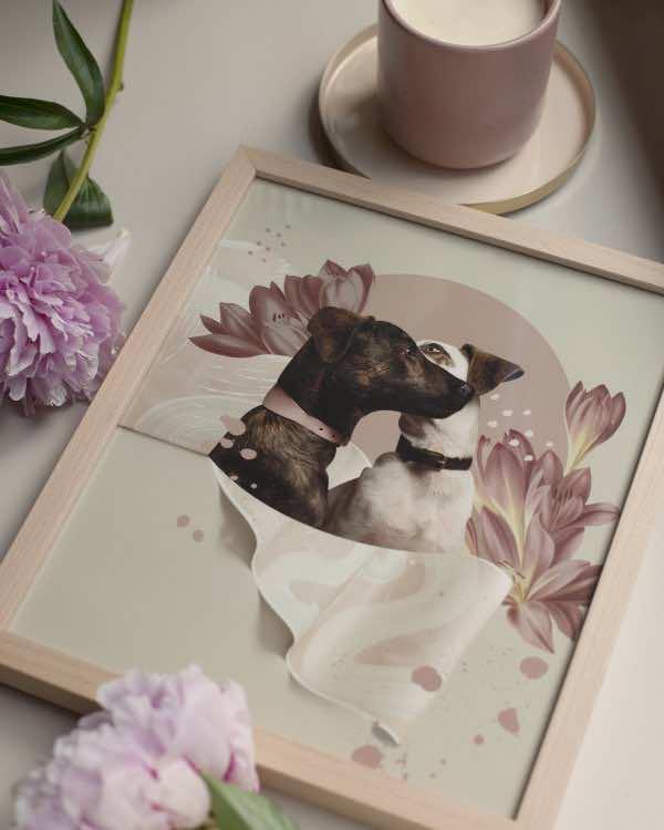 Oh Dogs! – RAMKA – 26×31 cm